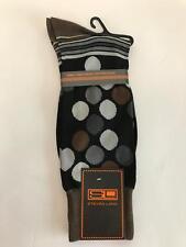 New Men's Steven Land Cotton Fun Novelty Print Big Polka Dot Dress Socks SO538E
