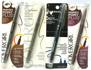 (4) Covergirl Perfect Point Plus Eye Pencils YOU CHOOSE YOUR COLOR