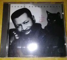 TEDDY PENDERGRASS. -   A LITTLE MORE MAGIC  -  RARE INDIE R&B  CD