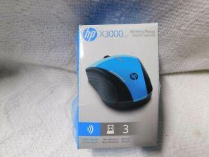 HP X3000 Wireless Mouse Blue K5D27AA#ABL