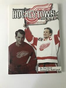 1999 Heroes of Hockeytown Book Detroit Red Wings Hockey Signed by Scotty Bowman