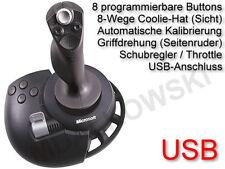 Microsoft SideWinder Precision 2 Flight joystick USB!