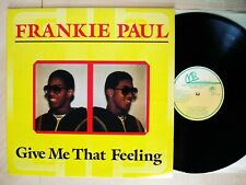 Frankie Paul Give Me That Feeling A1 B1 UK US LP Moodies 1987 EX/NM