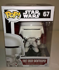Funko First Order Snowtrooper Star Wars EP7 Force Awakens POP! w/ Free Protector