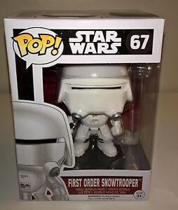 Funko First Order Snowtrooper Star Wars EP7 Force Awakens POP! Vinyl Figure NEW