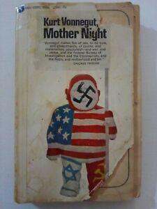 1966 Kurt Vonnegut: Mother Night, G+ Vintage Paperback book TAPED BINDING (rare)