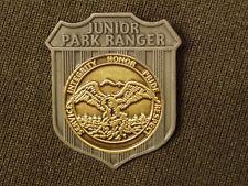Metal Junior Ranger Badge  Jr Park Ranger National Park State Park Ranger  US