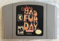 Conker's Bad Fur Day (N64 -Nintendo 64) Game Cartridge - Rare Tested and Works