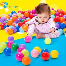 50 Stück Bunte Farben Kinderbälle Spielbälle Bällebad Kugelbad Bälle 70mm