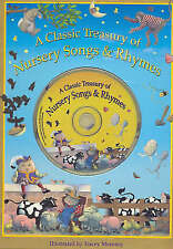 Classic Treasury of Nursery Songs and Rhymes (Book & CD), Tracey Moroney | Hardc