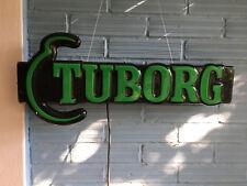 Vintage Tuborg Neon Original Logo Beer Bar Pub Store Light Sign