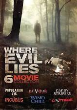 Where Evil Lies: Four Movie Collection DVD