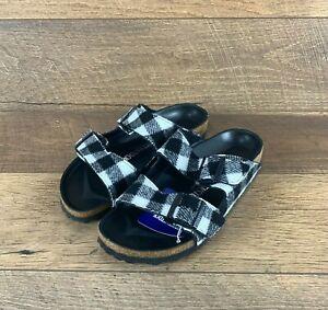 Birkenstock Arizona 1001217 Textile Narrow Fit Sandal 39 EU, Women 8 / Men 6 US
