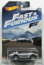 Hot Wheels 2017 Fast and Furious corvette grand sport roadster silver 1:64 #5 /8