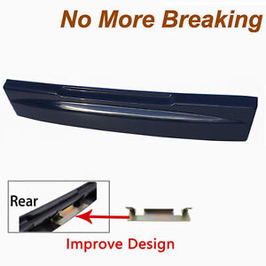 Tailgate License Plate Shield Handle For Ford Explorer 02-05 DX Dark Blue Pearl