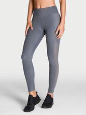 NEW Victoria's Secret Fashion Victoria Sport Tight Gray Mesh Insert Sz Small S