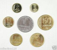 Tajikistan coins set of 7 pieces 2011 UNC