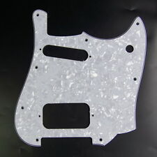 Replacement Guitar Pickguard For Squire Cyclone ,4ply White Pearloid
