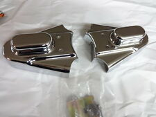 HARLEY FXST FLST SOFTAIL 1986 THRU 1999  REAR FRAME COVERS AXLE COVERS CHROME