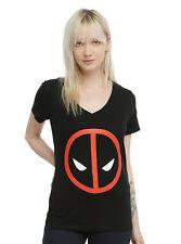 Marvel Deadpool Logo Girls T-Shirt
