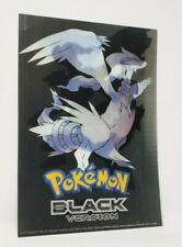 Pokemon Black & White 8 x 11 Promo Promotional Lenticular Poster