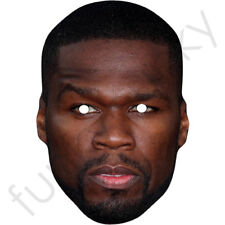 50 Cent Fifty Cent Celebrity Singer Card Mask - All Masks Are Pre-Cut!