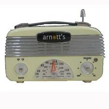 Retro Vintage 40's AM/FM Radio Vintage Cream