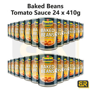Branston Baked Beans 24 Packs x 410g In Tomato Sauce Catering Original Tin Can