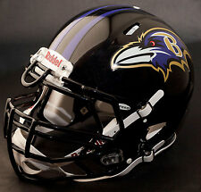 BALTIMORE RAVENS NFL Authentic GAMEDAY Football Helmet w/ S3BDU Facemask