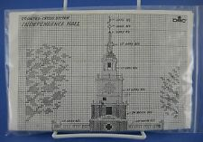 Independence Hall DMC Counted Cross Stitch Kit # Yo 557