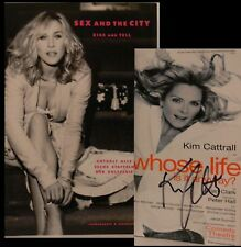 Kim Cattrall Sex and the City Buch signed signiert autograph Signatur Autogramm