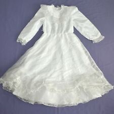 Hauchdünnes Tulle Children Dress 140 Flower Girl Communion Gala Dress