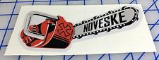 NOVESKE Chainsaw Decal Rifle Gun Pistol Shooting Hunting Tactical AR-15 308 NEW