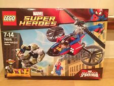 LEGO SPIDERMAN 76016 Spider Helicopter Rescue brand new, factory sealed