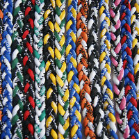 "Titanium Ionic Sports Baseball Necklace 20"" 3-rope Tornado Braid PLZY YN"