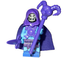 **NEW** LEGO Custom Printed SKELETOR Masters Of The Universe MOTUC Minifigure
