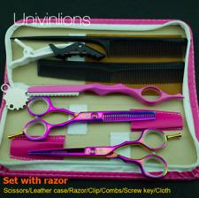 Profesional de peluquería adelgazamiento tijeras Rosa & Peluquería Tijeras Set 5.5 in (approx. 13.97 cm)