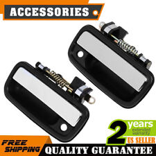 Chrome Outside Exterior Door Handle Pair Set for 95-04 Toyota Tacoma Pickup