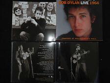 RARE COFFRET 2 CD BOB DYLAN / LIVE 1964 / LIVRET AVEC PHOTOS ET TEXTE /