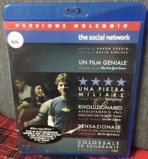 The Social Network Blu Ray David Fincher Ex Noleggio Come Foto N