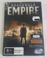 Boardwalk Empire Complete 1st Season DVD 5 Disc Set HBO PAL 4 2012 Sealed NEW
