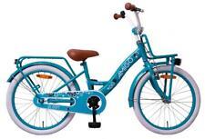 """DKB Kinderfahrrad Mädchen 18"""" Hollandrad Türkis Mädchenfahrrad Fahrrad City Bike"""