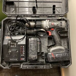 Porter Cable 18V MAX Bare Hammer Drill, Batteries And Case