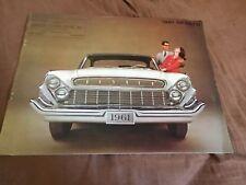 1961 DeSoto Firedome Color Brochure Catalog Prospekt
