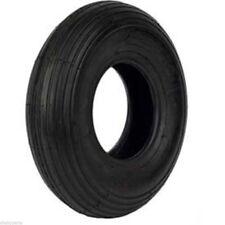 """13"""" Wheel Barrow Cart Wagon Tire Flat Free 5/8"""" Wheelbarrow Formed Ribbed Tread"""