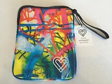 New iPad Case/Insulated Snack Bag Love Bravery Lady Gaga Elton John Graffiti