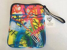 New iPad Case/Insulated Snack Bag Love Bravery Lady Gaga Elton John Graffiti