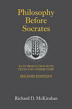 NEW Philosophy Before Socrates: An Introduction with Texts and Commentary