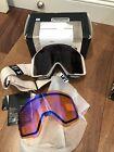 NEW Anon Burton Sync Ski Snow Goggles 2x Sonar Smoke/ Blue Zeiss Lens