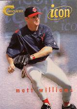 1997 SKYBOX CIRCA ICON CARD #12 MATT WILLIAMS GIANTS